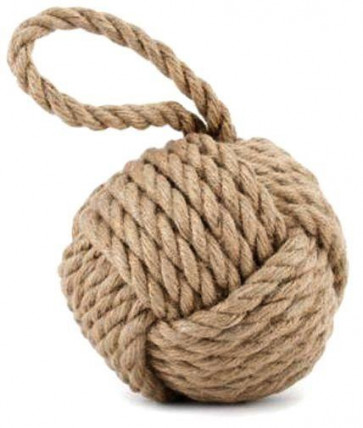 Rope Doorstop ~ Natural Nautical Rope Door Stop