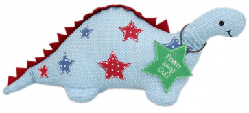 Fabric Stegosaurus Dinosaur Doorstop For Children ~ Dinosaur Door Stop