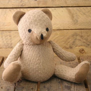 Bear Doorstop - Beige String Door Stop