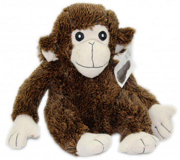 Take Me Home Fluffy Monkey Doorstop ~ Chocolate Chimp Wildlife Animal Novelty Door Stop