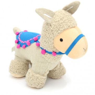 Fabric Llama Alpaca Animal Doorstop ~ Novelty Decorative Door Stop