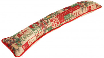 Traditional Vintage Christmas Draught Excluder Xmas Home Accessory