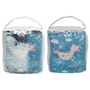 Magical Unicorn Sequin Fabric Decorative Doorstop