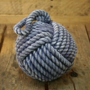 12Cm Blue Nautical Rope Doorstop ~ Small Rope Door Stop