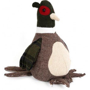 Take Me Home Pheasant Door Stop ~ Decorative Doorstop
