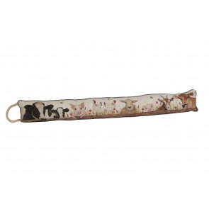 Charming Farm Animals Fabric Door Draught Excluder - Farming Life Door Draught Cushion